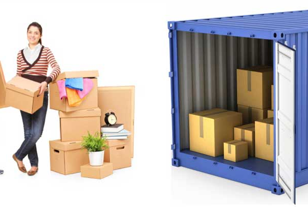 Container packing & unpacking service